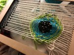 eyeball in the weaving